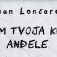 Dzenan Loncarevic - 2019 - Cuvam tvoja krila andjele